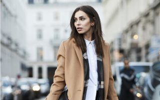 abrigos de moda en otoño
