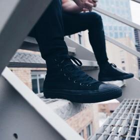 Hombres: ¿Qué zapatos usar con jeans?