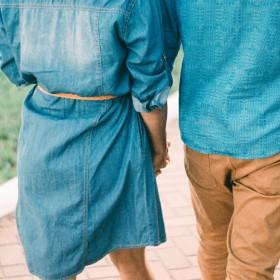 Vestidos de mezclilla de mujer