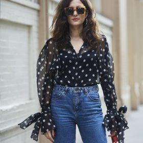 Camisas de manga larga de mujer