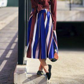 Faldas midi de mujer