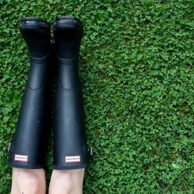 Botas de lluvias de mujer