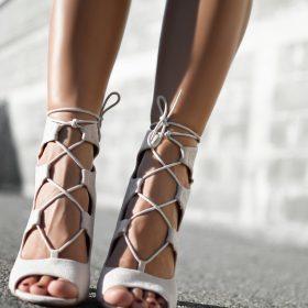 Sandalias lace-up