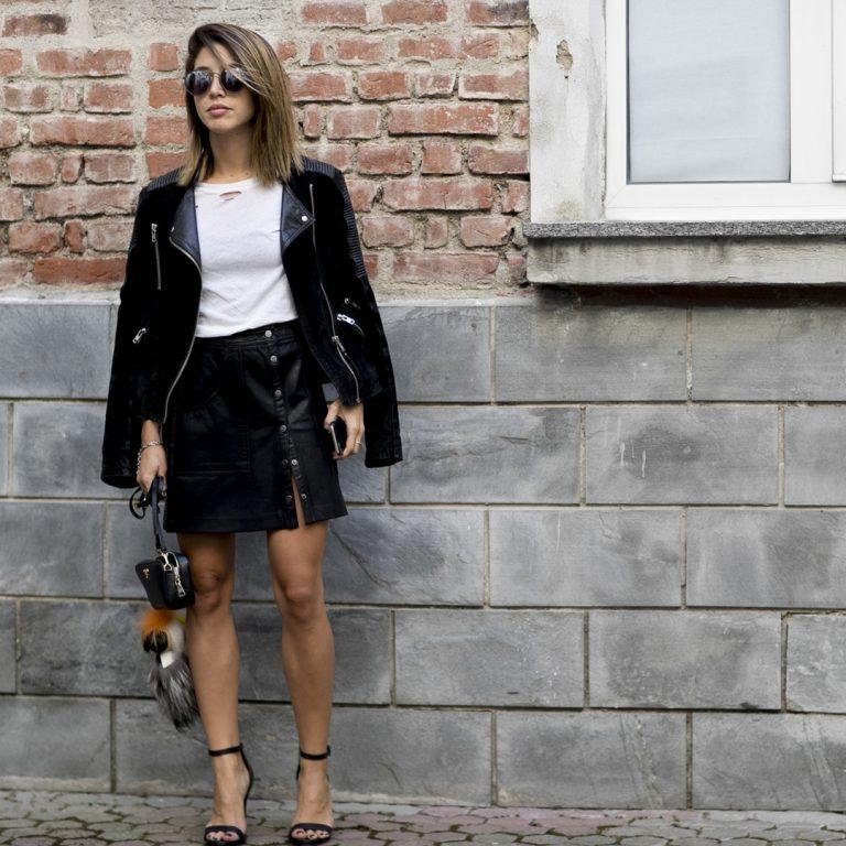 3 formas de llevar tu falda de piel