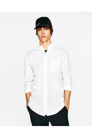 ZARA HOMBRE camisa cremallera cuadros | Pintas | Camisas