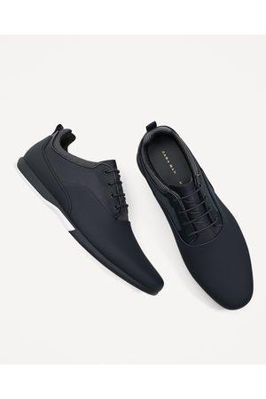 ¡compara De Tenis Hombre Zapatos Azules Deportivos Zara Y Ahora 7aqRZ