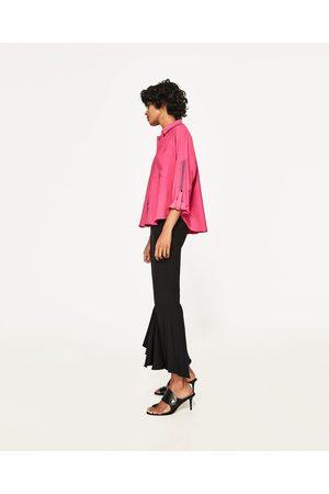 Mujer Camisas - Zara CAMISA OVERSIZE DETALLE CINTA