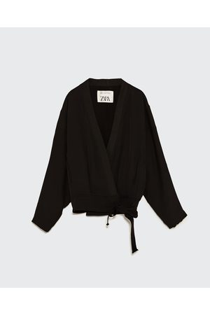 Mujer Suéteres abiertos - Zara KIMONO CON TIRAS STUDIO