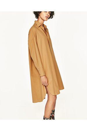 Mujer Camiseros - Zara Vestido camisero