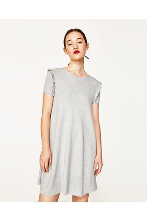 Mujer Vestidos - Zara VESTIDO VOLANTE MANGA - Disponible en más colores
