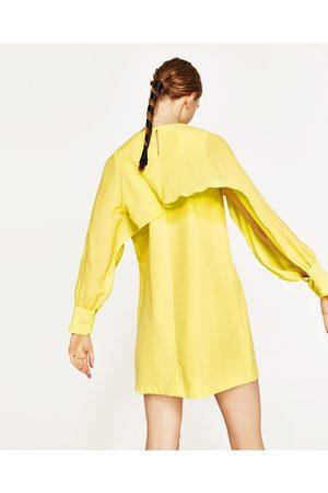 Mujer Vestidos - Zara VESTIDO MANGA ABERTURA - Disponible en más colores