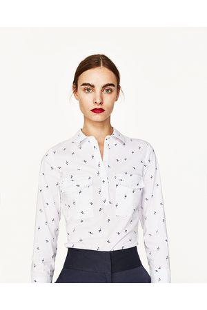 Mujer Camisas - Zara CAMISA MANGA 3/4