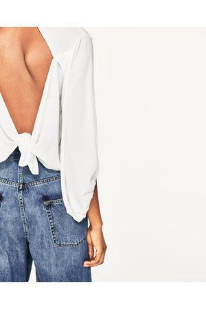Mujer Blusas - Zara BLUSA COMBINADA ESPALDA ABIERTA - Disponible en más colores