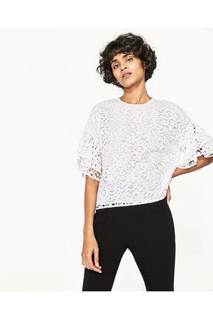 Mujer Camisas - Zara CUERPO ENCAJE