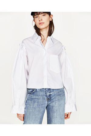 Mujer Camisas - Zara CAMISA PERLAS