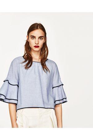 Mujer Camisas - Zara CUERPO RAYAS