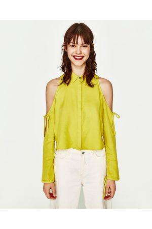 Mujer Camisas - Zara CAMISA LAZADA MANGA