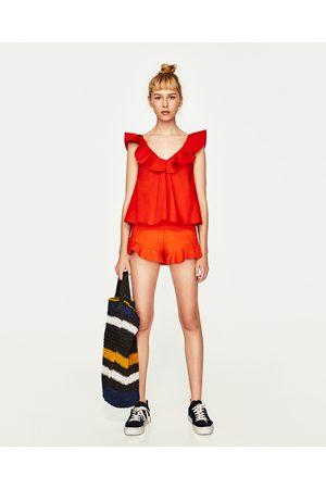 Mujer Camisas - Zara CUERPO VOLANTES - Disponible en más colores