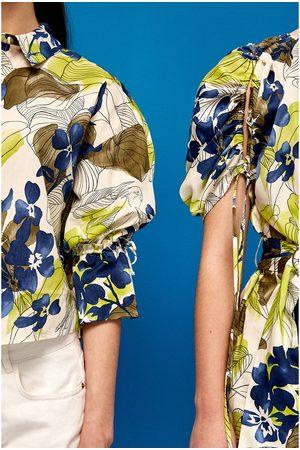 Mujer Camisas - Zara CAMISA ESTAMPADO FLORAL