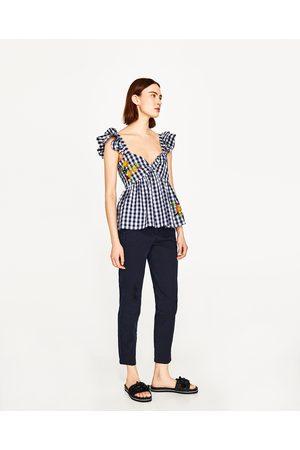Mujer Precio Al ¡compara Y Mejor Pantalones 2016 Zara De Compra Ahora f8p5fvqawx