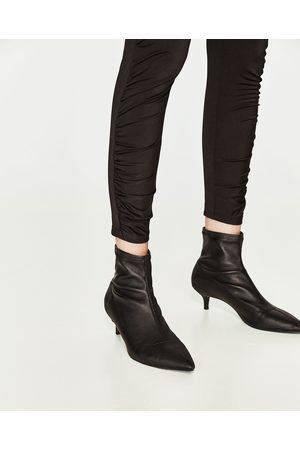 Mujer Leggings y treggings - Zara LEGGING FRUNCE BAJO