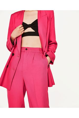 Mujer Pantalones y Leggings - Zara PANTALÓN TOBILLERO CON GOMA - Disponible  en más colores 2da35e41c2eb