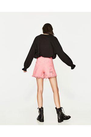 Mujer Shorts - Zara SHORT MOM FIT - Disponible en más colores