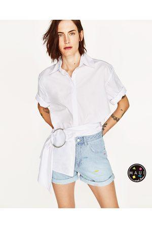 Mujer Shorts - Zara SHORT MOM FIT MAUI AND SONS ®