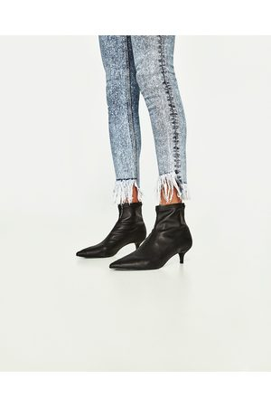 Mujer Skinny - Zara JEANS POWER STRETCH SKINNY FIT TIRO ALTO
