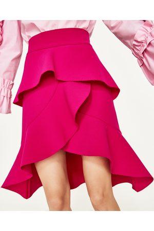 Mujer Faldas - Zara FALDA VOLANTES