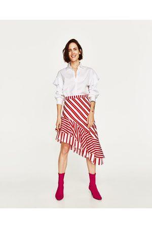 616b58866 Online Faldas Estampadas de mujer color beige ¡Compara ahora y ...