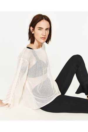 Mujer Suéteres - Zara JERSEY MANGA FRUNCIDA - Disponible en más colores