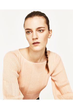 Mujer Suéteres - Zara JERSEY CANALÉ MANGA FAROL - Disponible en más colores