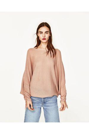 Mujer Suéteres - Zara JERSEY CUELLO BARCO - Disponible en más colores