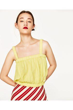 Mujer Tops - Zara TOP TIRANTES CROPPED - Disponible en más colores