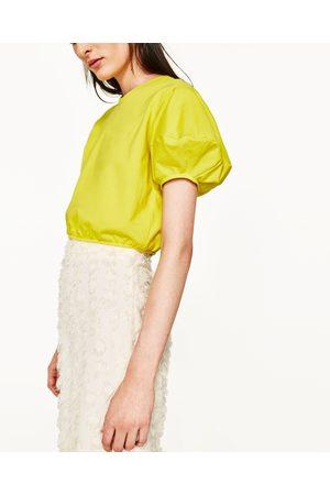 Mujer Sudaderas - Zara SUDADERA CROPPED - Disponible en más colores