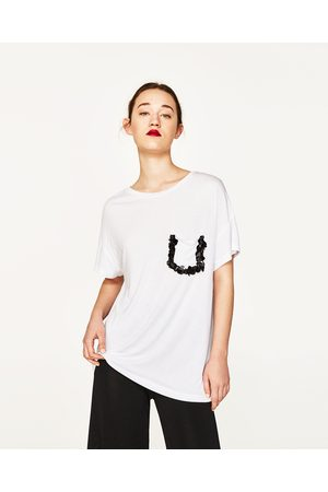 7aabebfb Playeras de mujer Zara tienda ¡Compara ahora y compra al mejor precio!