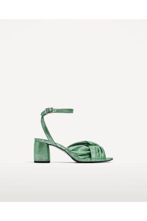 400169499 Sandalias de mujer Zara calzado online ¡Compara ahora y compra al ...