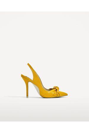 Mujer Zapatos - Zara SALÓN DESTALONADO PIEL NUDO