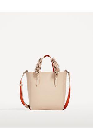 Mano Zara Bolsas Mini Intercambiables Shopper De Mujer Asas BASqgH