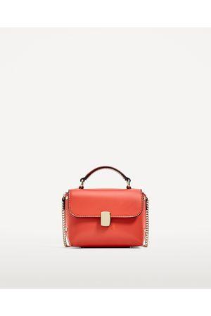 Mujer Bolsas - Zara Mini bandolera cierre metálico
