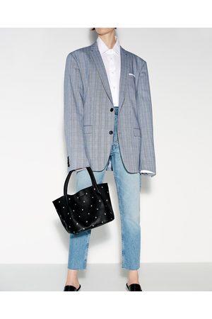 Mujer Bolsas - Zara MINI SHOPPER ESTAMPADO - Disponible en más colores