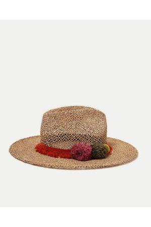 Mujer Sombreros - Zara SOMBRERO RAFIA