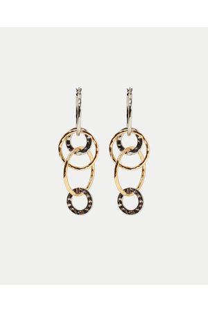 8328a37ac787 Aretes de mujer Zara marcas ¡Compara ahora y compra al mejor precio!