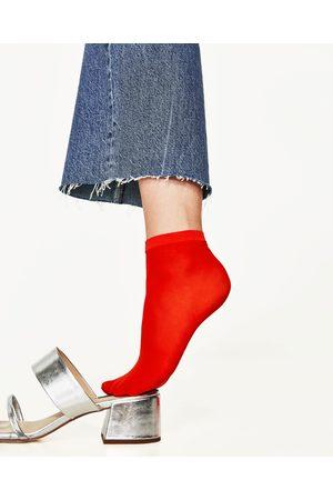 Mujer Calcetines - Zara PACK 2 CALCETINES REJILLA - Disponible en más colores