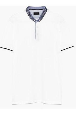 Hombre Polos - Zara POLO PIQUÉ CUELLO MAO - Disponible en más colores