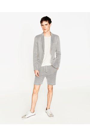 Hombre Sacos - Zara BLAZER SEERSUCKER - Disponible en más colores