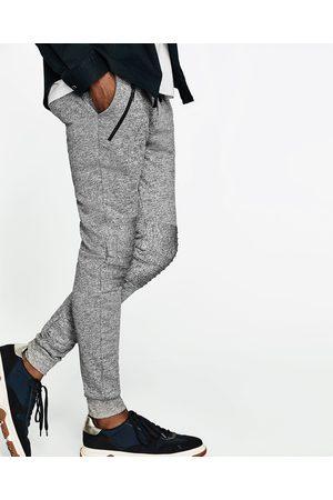 Hombre Pantalones y Leggings - Zara JOGGING BIKER - Disponible en más colores