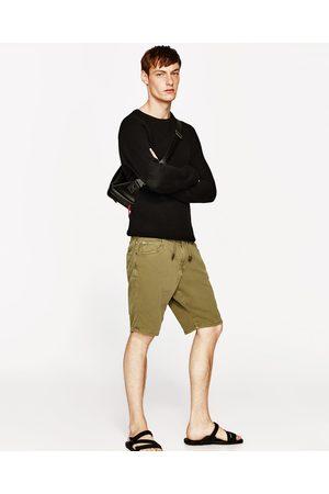 Hombre Bermudas - Zara BERMUDA SOFT DENIM - Disponible en más colores