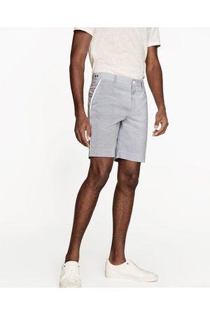 Hombre Bermudas - Zara BERMUDA RAYAS